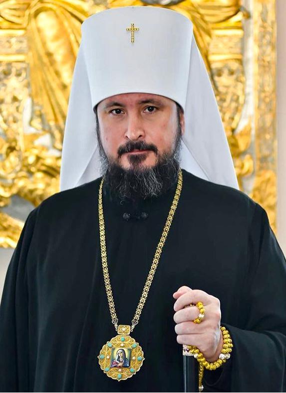 Высокопреосвященнейший Савватий, митрополит Чебоксарский и Чувашский, глава Чувашской митрополии